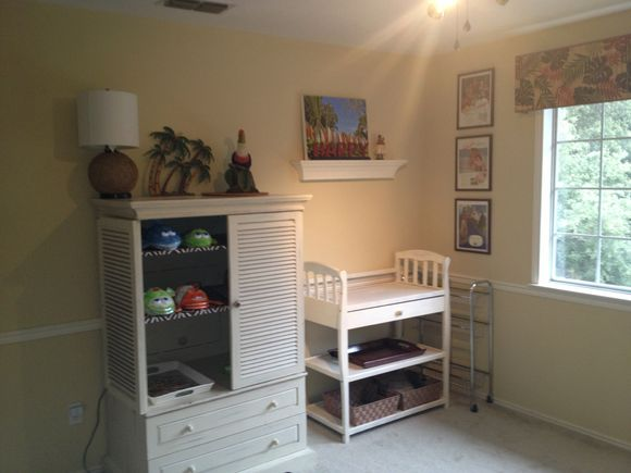 Nursery progress!
